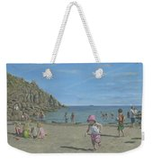 Time To Go Home - Porthgwarra Beach Cornwall Weekender Tote Bag