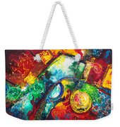 Time Warp Weekender Tote Bag