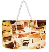 Time Worn Scenes And Places Background Weekender Tote Bag