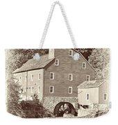 Timeless-clinton Mill N.j.  Weekender Tote Bag