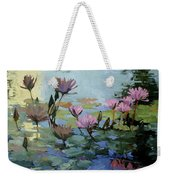 Times Between - Water Lilies Weekender Tote Bag