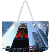 Times Square Cops Weekender Tote Bag