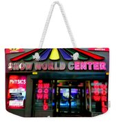 Times Square Fading Weekender Tote Bag