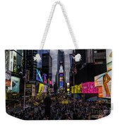 Times Square From The Steps Weekender Tote Bag