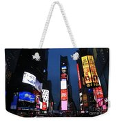 Times Square New York Weekender Tote Bag