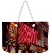 Times Square Night Weekender Tote Bag