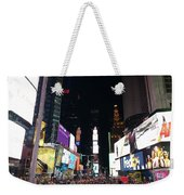 Times Square On A Tuesday. Weekender Tote Bag