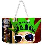 Times Square Trish Weekender Tote Bag