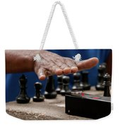 Timing The Chess Move Weekender Tote Bag