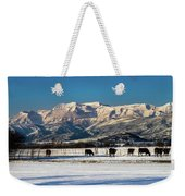 Timpanogos From The North Fields Weekender Tote Bag