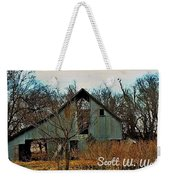 Tin Barn Weekender Tote Bag
