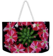 Tiny Bunch Of Red And Pink Flowers Weekender Tote Bag