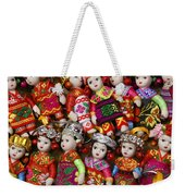 Tiny Chinese Dolls Weekender Tote Bag