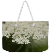 Tiny Cluster Of Queen Anne's Lace Weekender Tote Bag