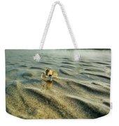 Tiny Crab In Water Weekender Tote Bag