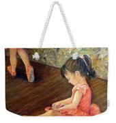 Tiny Dancer Weekender Tote Bag