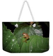 Tiny Escapee Weekender Tote Bag