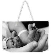 Tiny Feet Weekender Tote Bag