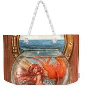 Tiny Mermaid Weekender Tote Bag