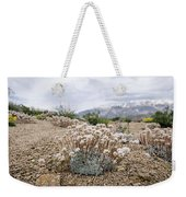 Tiny Mountain Blooms Weekender Tote Bag by Margaret Pitcher