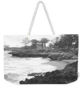 Tiny Opportunity Beach In Santo Domingo Dominican Republic Weekender Tote Bag