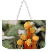 Tiny Orange Mushrooms Weekender Tote Bag