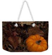 Tiny Pumpkin Weekender Tote Bag