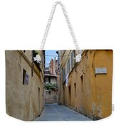 Tiny Street In Siena Weekender Tote Bag