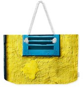 Tiny Window With Closed Shutter Weekender Tote Bag