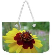 Tiny Yellow Flower Weekender Tote Bag
