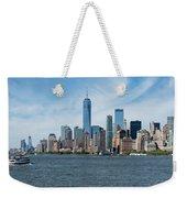 Tip Of Manhattan Wide Weekender Tote Bag