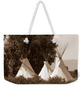 Tipis In Toppenish Weekender Tote Bag