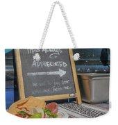 Tips Appreciated Weekender Tote Bag