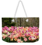 Tiptoe Among The Tulips Weekender Tote Bag