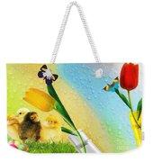 Tiptoe Through The Tulips Weekender Tote Bag