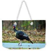 Tiptoe Turkey Trot Weekender Tote Bag