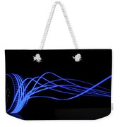 Tire Luminous Tread And Glowing Wake Weekender Tote Bag