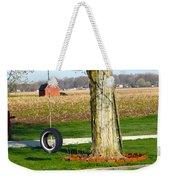 Tree Tire Swing  Weekender Tote Bag