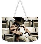 Tired Buckaroo Weekender Tote Bag
