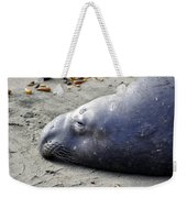 Tired Seal Weekender Tote Bag