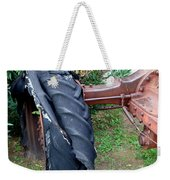 Tired Tractor Tire Weekender Tote Bag