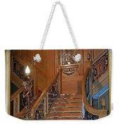 Titanics Grand Staircase Weekender Tote Bag