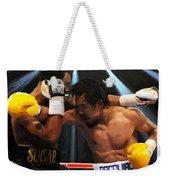 Title Bout Weekender Tote Bag