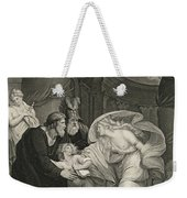 Titus's Garden. Lucius Pursued By Lavinia Weekender Tote Bag