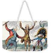 T.jefferson Cartoon, 1809 Weekender Tote Bag