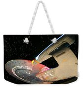 To Boldly Go Weekender Tote Bag by Kristin Elmquist