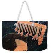 To Comb The Social Reactions Weekender Tote Bag