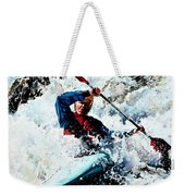 To Conquer White Water Weekender Tote Bag