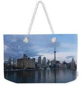 T O Harbour In Blue Weekender Tote Bag