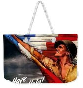 To Have And To Hold - War Bonds Weekender Tote Bag